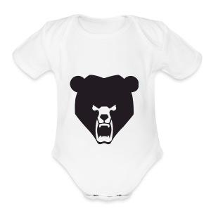 BeartheMLGpro Logo Collection - Short Sleeve Baby Bodysuit