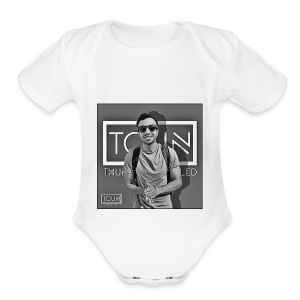 Thunayyan Khalid - Short Sleeve Baby Bodysuit