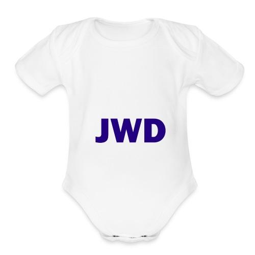 JevWD Merch - Organic Short Sleeve Baby Bodysuit