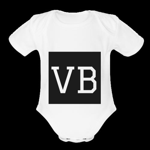 Standard VB - Organic Short Sleeve Baby Bodysuit