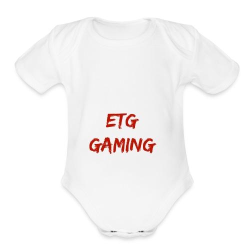 POWER CORE - Organic Short Sleeve Baby Bodysuit