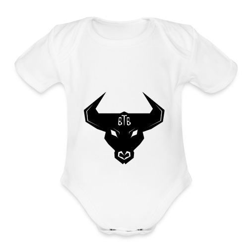 Be The Bull - Organic Short Sleeve Baby Bodysuit