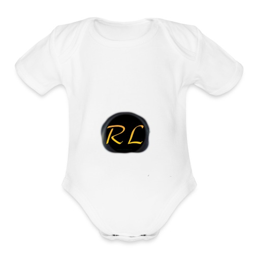 First ever logo - Organic Short Sleeve Baby Bodysuit