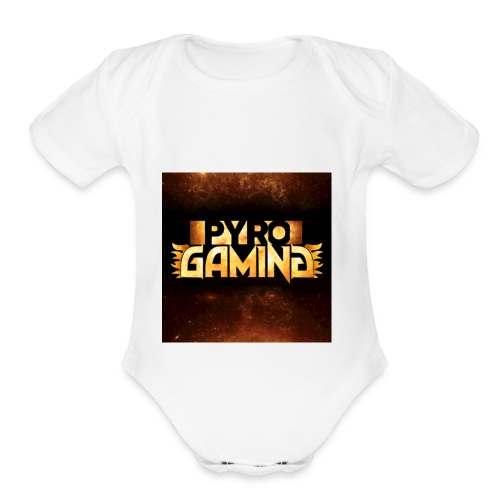 PYRO shirts sweaters cases etc - Organic Short Sleeve Baby Bodysuit