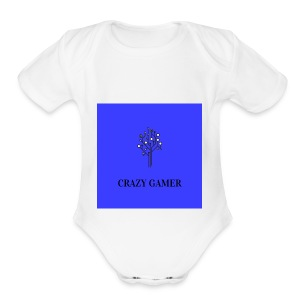 Gaming t shirt - Short Sleeve Baby Bodysuit