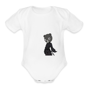 Jinnosuke Stand off pose - Short Sleeve Baby Bodysuit