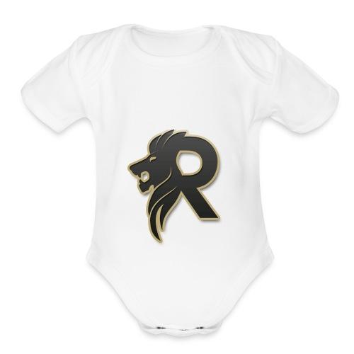 Roygames13 shirt - Organic Short Sleeve Baby Bodysuit