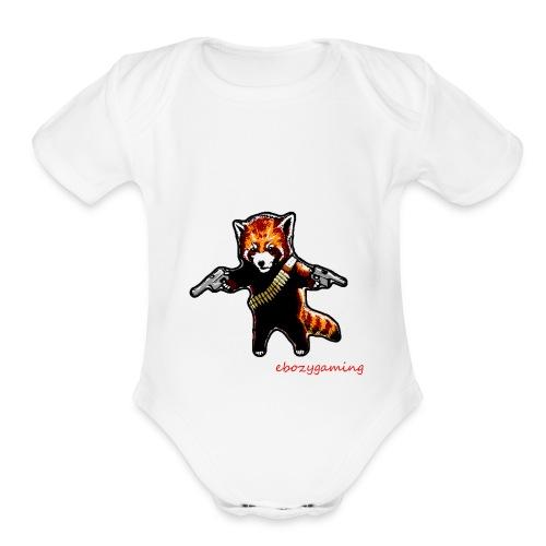 ebozygaming signature T-SHIRT - Organic Short Sleeve Baby Bodysuit