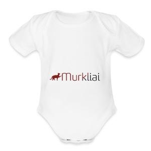 Murkliai - Short Sleeve Baby Bodysuit