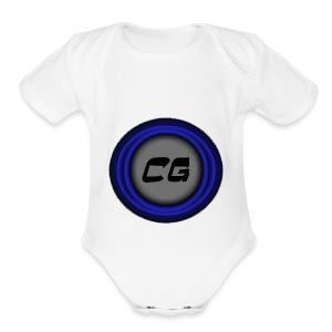 Clostyu Gaming Merch - Short Sleeve Baby Bodysuit