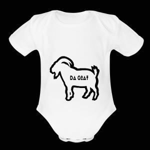 Tony Da Goat - Short Sleeve Baby Bodysuit