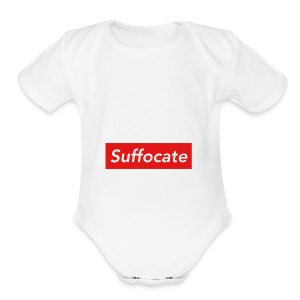 Suffocate - Short Sleeve Baby Bodysuit
