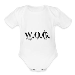 wog1 - Short Sleeve Baby Bodysuit