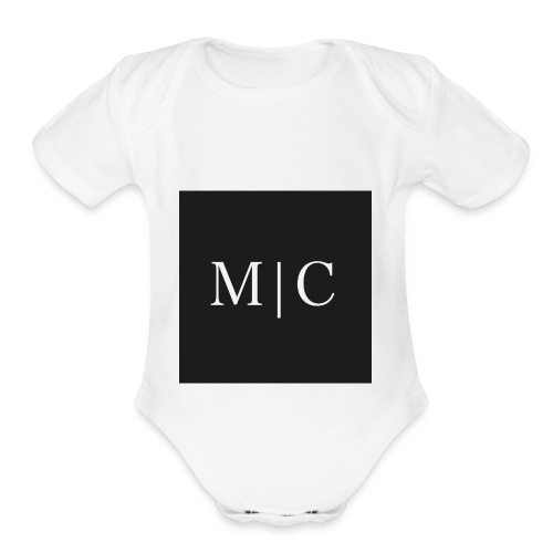 MAN CANVAS - Organic Short Sleeve Baby Bodysuit