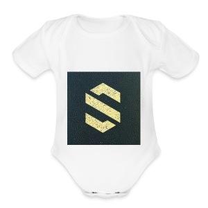 shirt online logo - Short Sleeve Baby Bodysuit