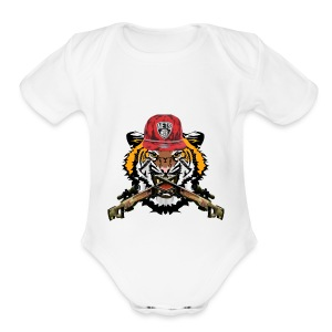iceii apparel - Short Sleeve Baby Bodysuit