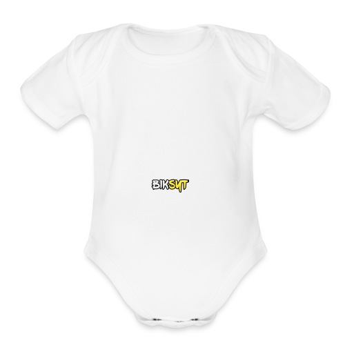BikSYT - Organic Short Sleeve Baby Bodysuit