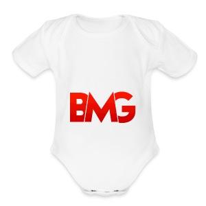 BMG Apparel - Short Sleeve Baby Bodysuit