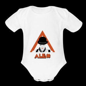 Alex - Short Sleeve Baby Bodysuit
