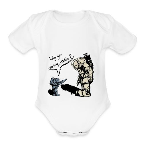 Big Daddy - Organic Short Sleeve Baby Bodysuit