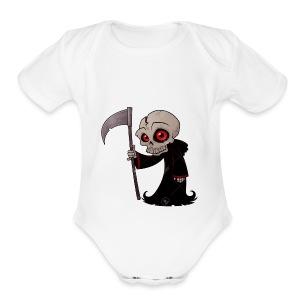 grimpuff - Short Sleeve Baby Bodysuit