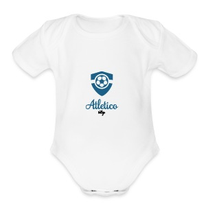 Atletico Vallejo - Short Sleeve Baby Bodysuit