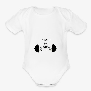 Fight To End - Short Sleeve Baby Bodysuit