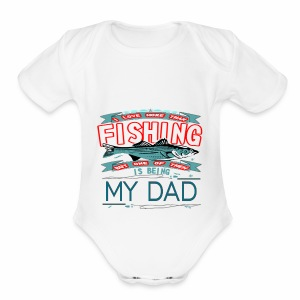 love for father - Short Sleeve Baby Bodysuit