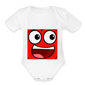 Cherry Gaming Logo - Short Sleeve Baby Bodysuit