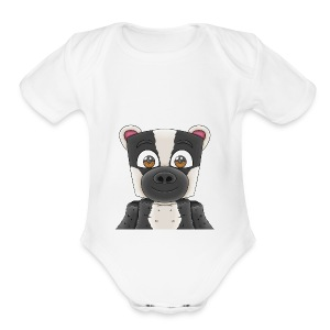Badgerr Design! - Short Sleeve Baby Bodysuit