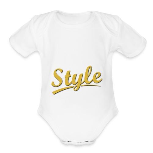 Step in style merchandise - Organic Short Sleeve Baby Bodysuit