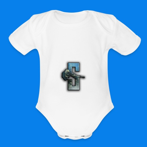 Speedy Logo 2 - Organic Short Sleeve Baby Bodysuit