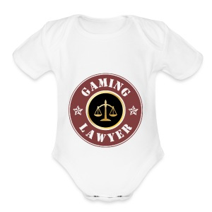 Gaming Lawyer Classic - Short Sleeve Baby Bodysuit