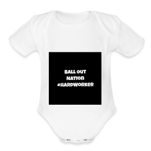 bondesign1 - Short Sleeve Baby Bodysuit