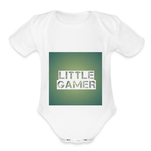 Little gamer - Organic Short Sleeve Baby Bodysuit