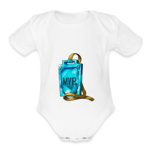 MVP+ - Short Sleeve Baby Bodysuit