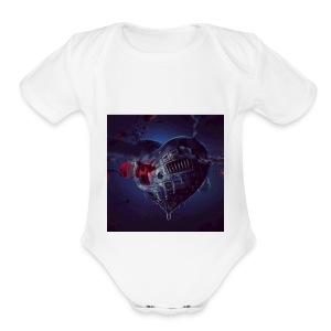 STEAM HEART - Short Sleeve Baby Bodysuit