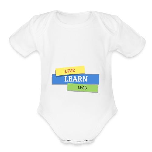 Triple L T-shirt - Organic Short Sleeve Baby Bodysuit