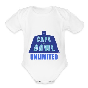 Cape and Cowl Unlimited - Short Sleeve Baby Bodysuit