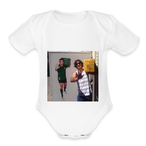 Mate vs Mate - Organic Short Sleeve Baby Bodysuit