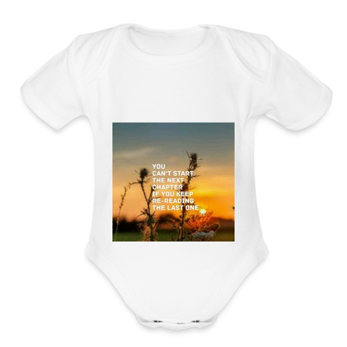 Next life chapter - Organic Short Sleeve Baby Bodysuit
