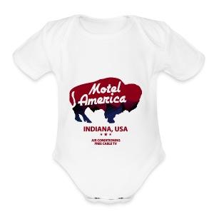 Great The Motel USA - Short Sleeve Baby Bodysuit