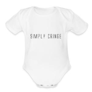 Simply Cringe - Short Sleeve Baby Bodysuit