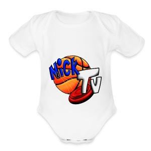 Nick TV Big and Tall - Short Sleeve Baby Bodysuit