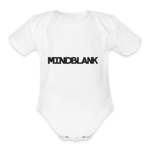 Mind Blank Sports - Organic Short Sleeve Baby Bodysuit