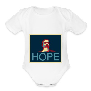 hope - Short Sleeve Baby Bodysuit