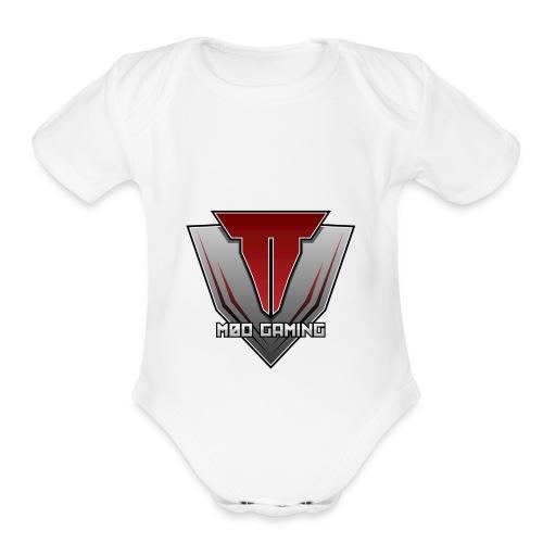 m0o gaming - Organic Short Sleeve Baby Bodysuit