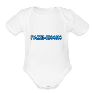 FaZeMessi10 Merch - Short Sleeve Baby Bodysuit