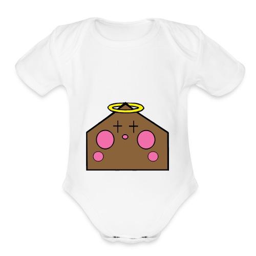 Angel House - Organic Short Sleeve Baby Bodysuit
