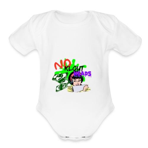 Noklouthead T-shirt - Organic Short Sleeve Baby Bodysuit
